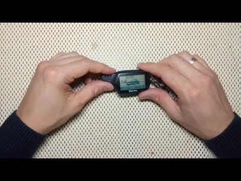 StarLine A91 замена кнопки