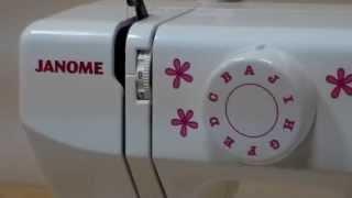 JANOME SewMini Delux - детская швейная машинка(, 2015-11-03T08:25:21.000Z)