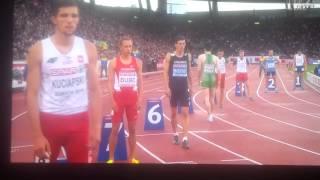 800 m final Zurich 15.08.2014 Adam Kszczot gold