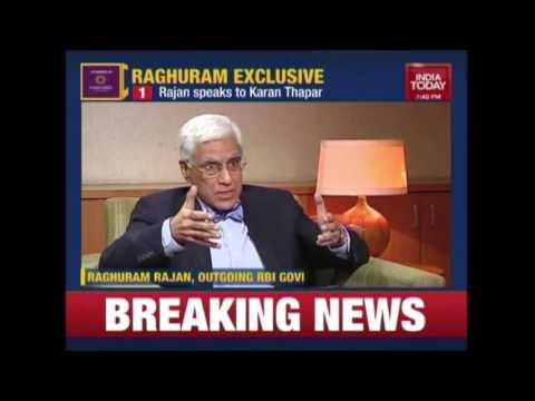 To The Point: RBI Governor, Raghuram In Conversation With Karan Thapar