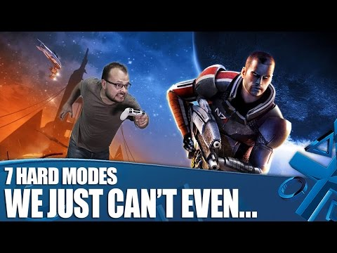 7 Videogame Hard Modes We Just Can't Even...