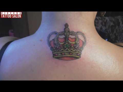 31 - Тату Корона - значение татуировки