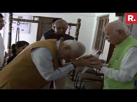 PM Narendra Modi Wishes LK Advani On His 91st Birthday