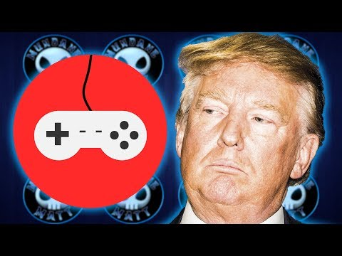 Trump's White House Summit on video games happened...