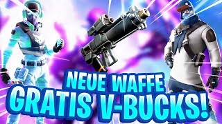 UNE NOUVELLE ARME ARRIVE ! 😱 V-BUCKS CHALLENGES 😍 FORTNITE: BATAILLE ROYALE
