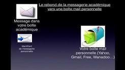 Utiliser sa boîte académique (Ac-Nice.fr)