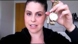 Jerusha Blogs: My Guess Gold Watch!!