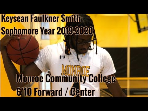 Keysean Faulkner Smith 2019-2020 Sophomore Year Highlights Monroe Community College