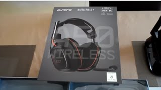 l'Astro Gaming A50 Battlefield 4 édition Casque Sans-Fil  Déballage Fr.