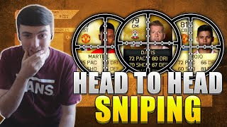 FIFA 16 | HEAD TO HEAD SNIPING CHALLENGE vs CAPGUNTOM | SNIPING MIN PRICE PLAYERS