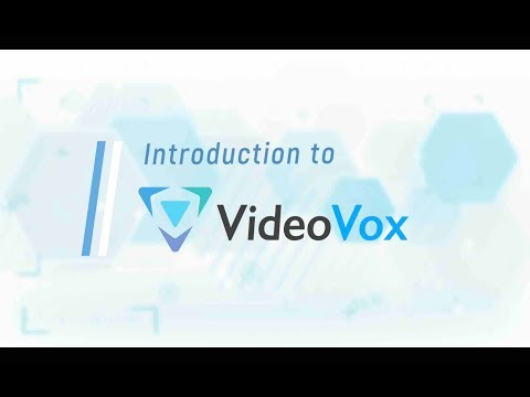 VideoVox - Reimagine Online Learning Experience