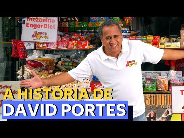 DE CAMELÔ A MILIONÁRIO E PALESTRANTE MUNDIAL - A HISTÓRIA DE DAVID PORTES