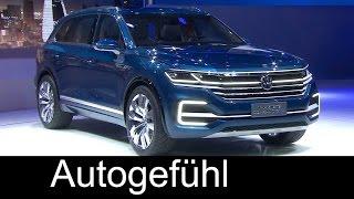 VW Touareg new generation concept presentation Volkswagen T-Prime Concept GTE