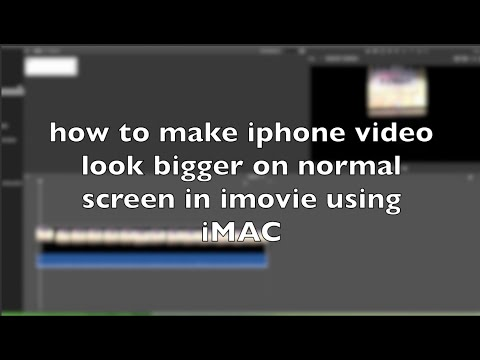 how to cut video in imovie iphone