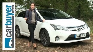 Toyota Avensis Tourer estate 2013 review - CarBuyer