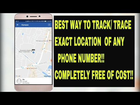 How to TRACK/TRACE real-time EXACT LOCATION of a phone number for FREE! (Best way)