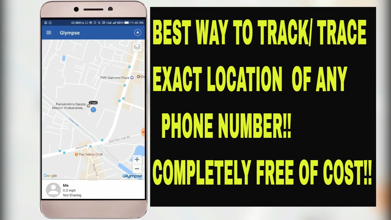 how to track trace real time exact location of a phone number for free best way youtube. Black Bedroom Furniture Sets. Home Design Ideas