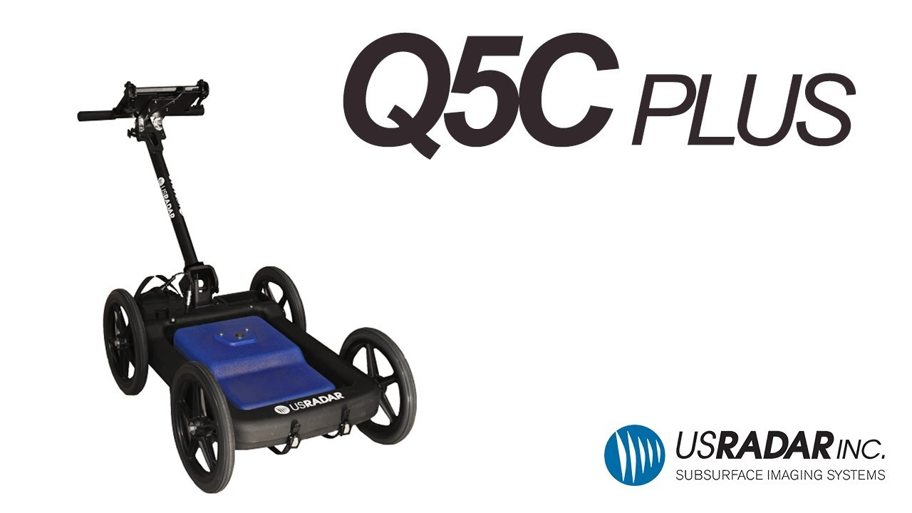 US Radar - Q5C Plus 500 MHz Ground Penetrating Radar System