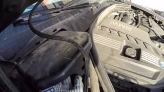 Замена салонных фильтров на BMW X3 F25. Внимание присутствие 2 комплектов салонных фильтров.