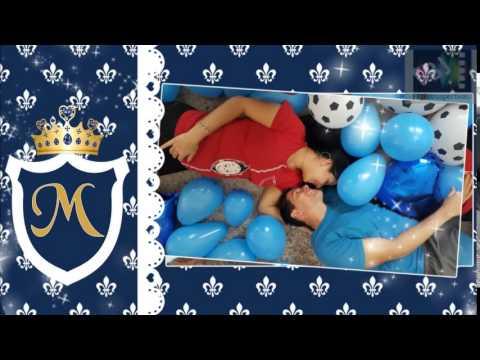 Convite Animado Chá De Bebê Príncipe Amostra 2 Youtube