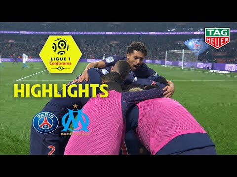 Paris Saint-Germain - Olympique de Marseille ( 3-1 ) - Highlights - (PARIS - OM) / 2018-19