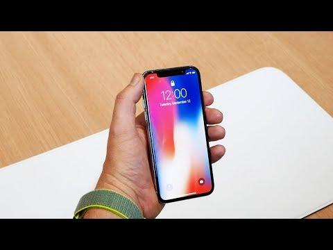 Первый обзор iPhone X на русском