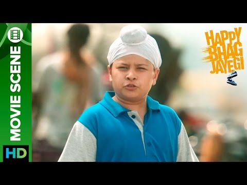 † Paaji † Tussi Pakistani Ho | Happy Bhag Jayegi | Movie Scene