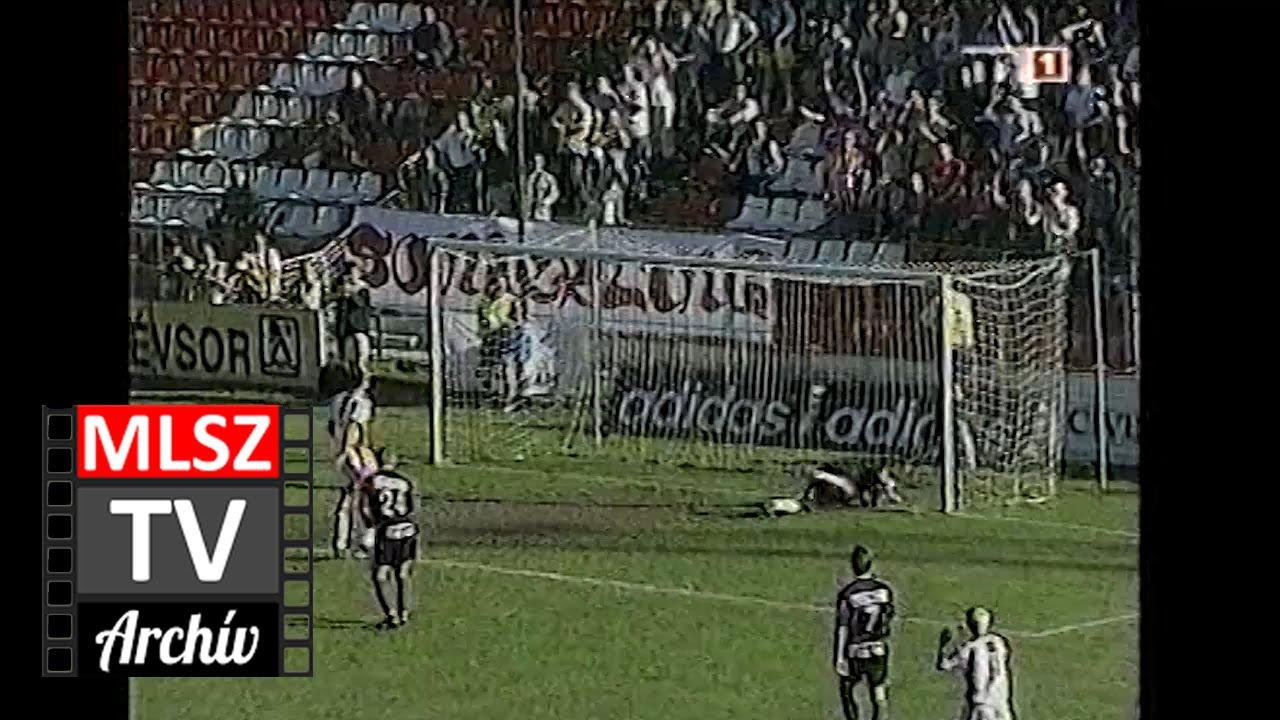 Debrecen-Újpest | 3-4 | 2001. 05. 26 | MLSZ TV Archív