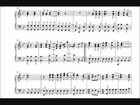 Pokémon Theme Song - Piano sheets
