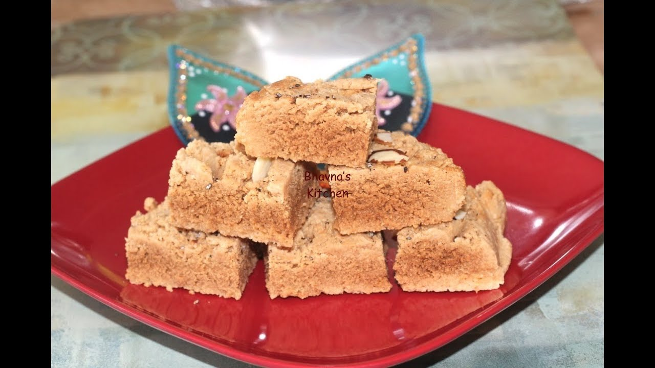 Badam Mysore Pak (Almond Fudge) Video Recipe | Bhavna's Kitchen