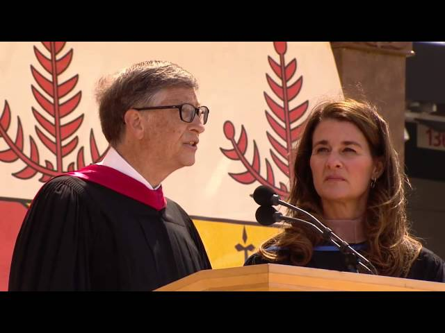 Bill and Melinda Gates' 2014 Stanford Commencement Address