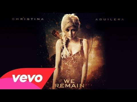 Christina Aguilera - We remain (Lyrics video)