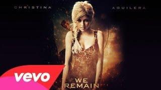 Christina Aguilera - We remain (Lyrics video)