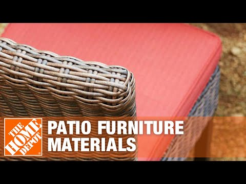 Patio Furniture Materials   The Home Depot
