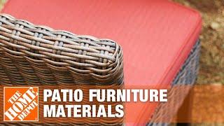 Patio Furniture Materials