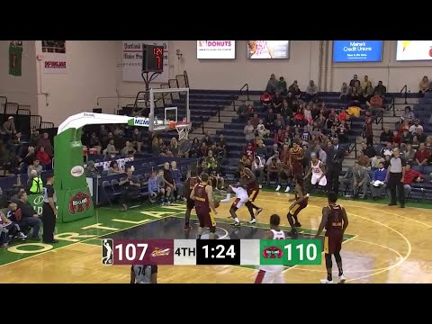 Kendrick Perkins Posts 14 points & 11 rebounds vs. Maine Red Claws