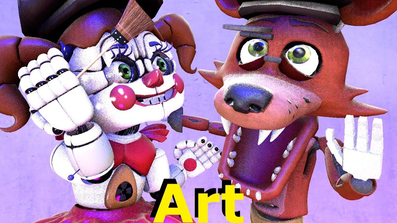 Baby Foxy Artist [FNAF SFM] Animation Five Nights at Freddy's