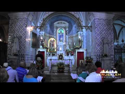 VIdoe Tour To The Church Of Saint John The Baptist (Ein Karem) Jerusalem