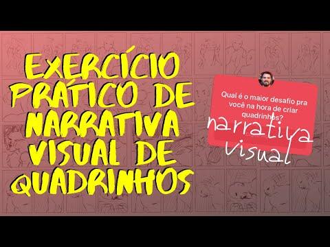 Exercício prático para narrativa visual de quadrinhos
