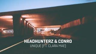 Headhunterz & Conro   Unique Feat. Clara Mae (cover Art)