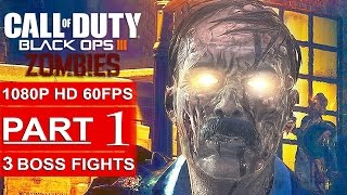 Call Of Duty Black Ops 3 Zombies Gameplay Walkthrough Part 1 Shadows Of Evil - 3 Monster BOSS FIGHTS