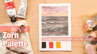 Can I paint water without blue or green? | Zorn Palette