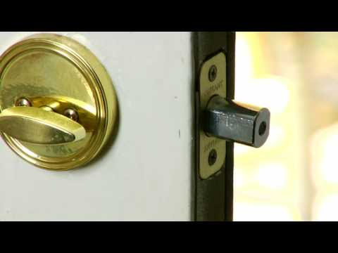 Beau Home Improvement U0026 Repair Tips : How To Fix Door Locks