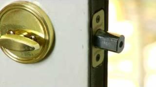 Home Improvement & Repair Tips : How to Fix Door Locks