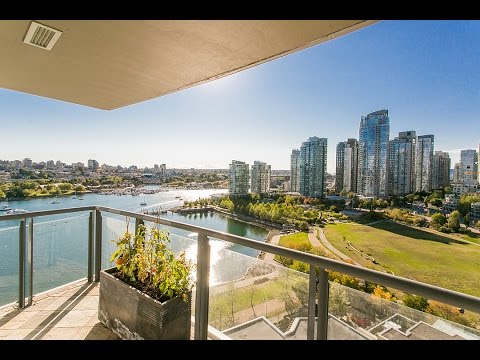 Yaletown Luxury Waterfront Condo at 1901 - 1383 Marinaside Cr (Columbus)