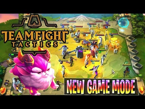 TEAMFIGHT TACTICS Full Gameplay Guide - League Of Legends TFT LOL Auto Chess New Game Mode
