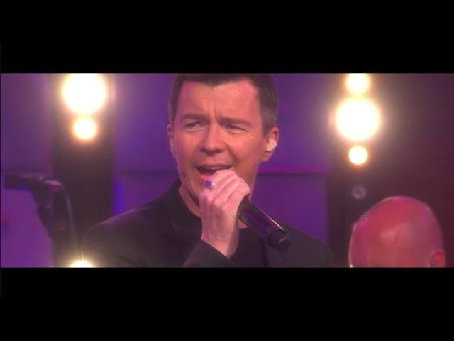 Rick Astley Never Gonna Give You Up Rtl Late Night Youtube