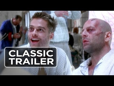 12 Monkeys Official Trailer #1 - Bruce Willis, Brad Pitt Movie (1995) HD
