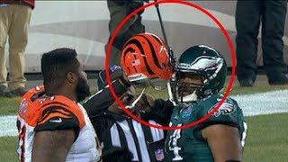 NFL Helmets Stuck Together (HD)