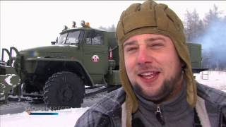 Sowjetische Ural Schneefräse, Einsatz im Erzgebirge - Шнекоротор Урал